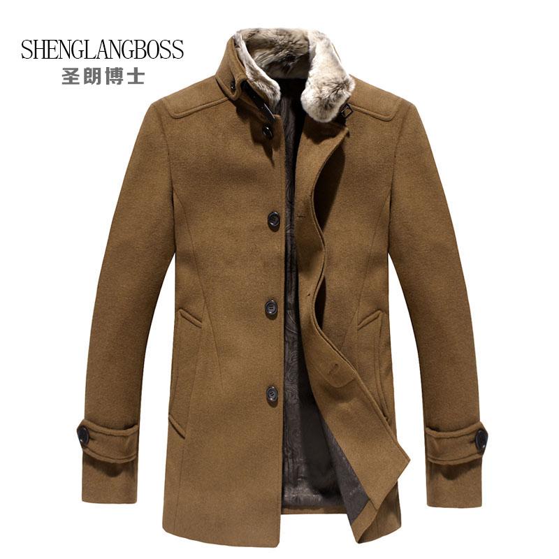 Пальто мужское Dr shenglangboss 1392 SHENGLANG BOSS