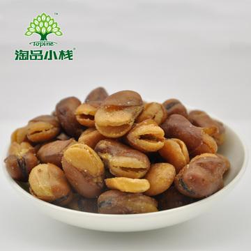 淘品小栈 蚕豆 豆瓣零食炒货680g 独立包装年货必备 牛肉味兰花豆