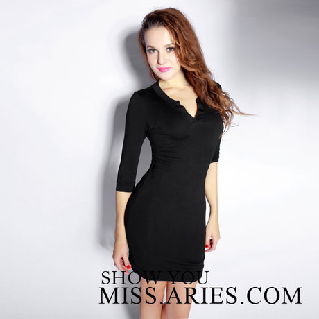 Spring\/summer 2014 the package sleeve dress stereo clipping cultivate one's morality accept waist hip skirt OL temperament of Europe and the United States women's clothing