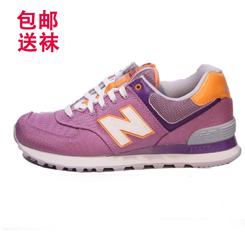 包邮送NEW BALANCE新百伦NB 574女鞋旅行家休闲跑步鞋WL574PCI