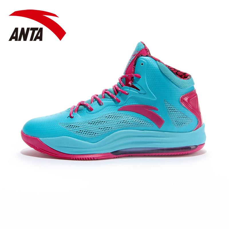 安踏篮球鞋男鞋NBA加内特KG战靴正品帕森斯弹力胶高帮实战运动鞋