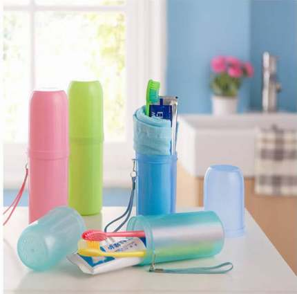 9.9 yuan shipping male Ms. Travel Tumbler portable travel wash bag storage toothpaste, toothbrush kit