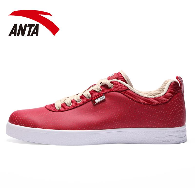 安踏男鞋板鞋2014秋季新款ANTA休闲运动鞋情侣低帮韩潮流男滑板鞋