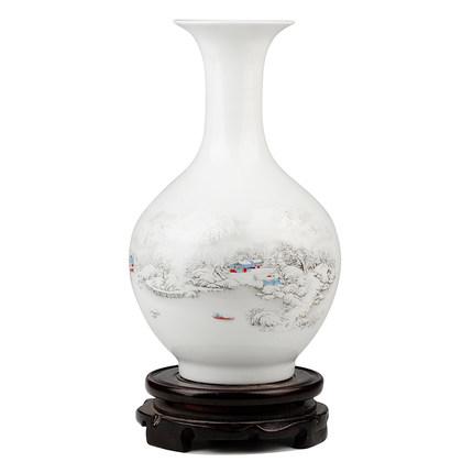 景德镇陶瓷花瓶 插花器拍下24元包邮