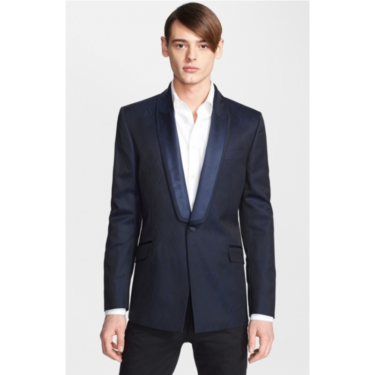 Пиджак, Костюм Versace q00574609 Medium Blue