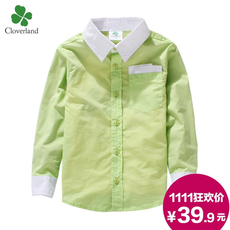 Рубашка детская Cloverland c0166