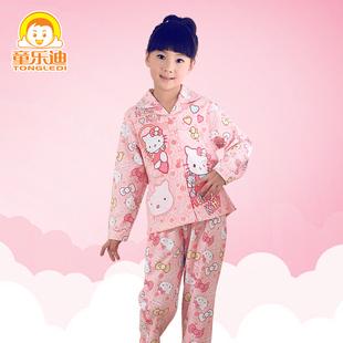 [年终盛典] 儿童睡衣女童秋冬季纯棉长袖女孩春秋款小孩宝宝大童装家居服套装