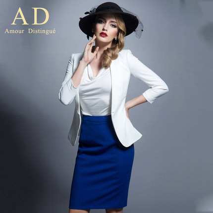 AD2014 autumn new business attire dress skirt suit fashionable dress suits ol temperament overalls to booking