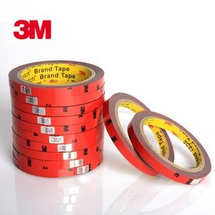 Genuine 3M double-sided adhesive strength double-sided adhesive tape automotive supplies bandwidth 1 cm long 3 m foam tape