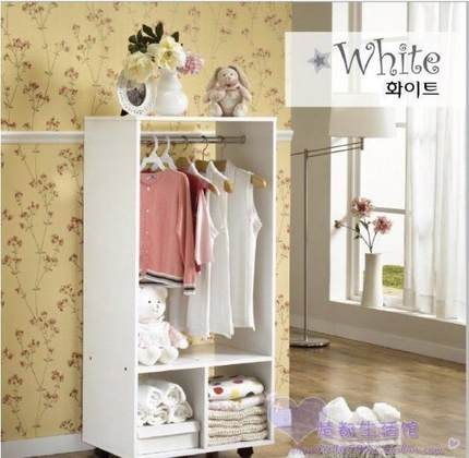 Ikea wardrobe simple cloth wardrobe Ikea wardrobe Korean small children simple wardrobe closet