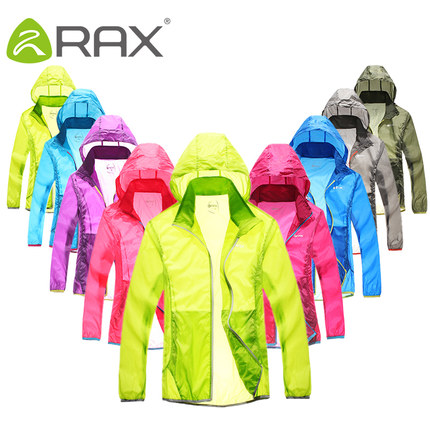 RAX skin ultra-thin breathable clothing for men and women couple fast drying UV sun protection clothing waterproof windbreaker skin