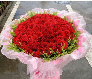 Tianshui, Lanzhou flower delivery flower shop flower shop in Yinchuan , Xining to Lhasa is still excellent flowers 99 red roses 01