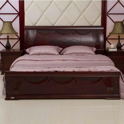 Find storage double bed designs wooden bed videos and for Wooden box bed image