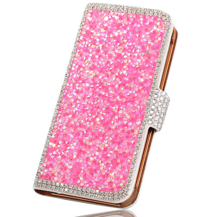 Samsung Note2 phone shell GT-N7100 N7102 N7105 crystal diamond leather protective sleeve accessories N7108D