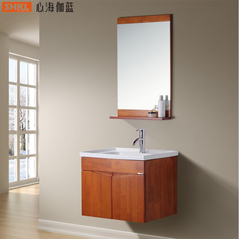 心海伽蓝橡木浴室柜CX027