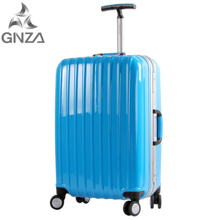 Buy Ginza Trolley Aluminum Frame Box Abs Pc Suitcase
