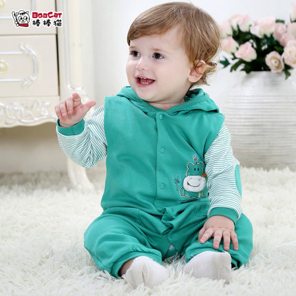 Buy 0-1-2 year-old boy baby clothing leotard spring and female baby boy  child children climb piece fitted suit in Cheap Price on Alibaba.com