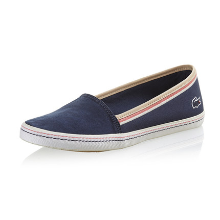 4755baef1 Buy LACOSTE Lacoste Ladies ORANE 2 blue canvas shoes W1234R003H1 in ...