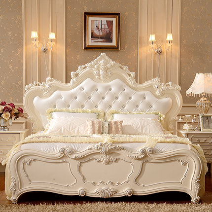 get quotations card neo rich french style bed bed 18 m princess bed double leather bed - Bed Frame Deals