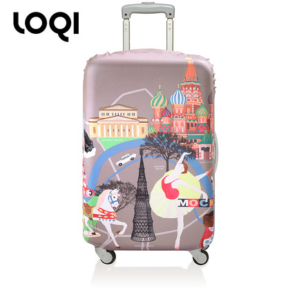 get quotations loqi box sets trolley travel luggage sets box sets of waterproof bags to protect inch