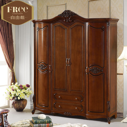 solid wood wardrobe closet roselawnlutheran. Black Bedroom Furniture Sets. Home Design Ideas