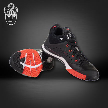 498aa5d5647d Air Jordan CP3.VII AJ Paul 7th generation GS men s shoes black and red  basketball