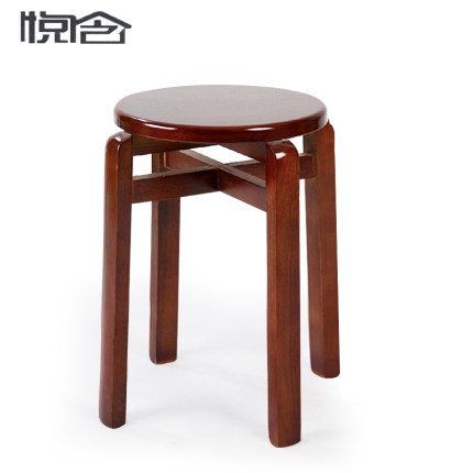 Get Quotations · Wyatt containing reinforced wood stool stool stool round solid oak wooden bench stool stool stylish wooden  sc 1 st  Alibaba : wooden stool plans - islam-shia.org