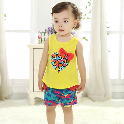 9ad5092ceef07 Summer Infant baby summer clothes 0-1 years old preschool children aged 1-2