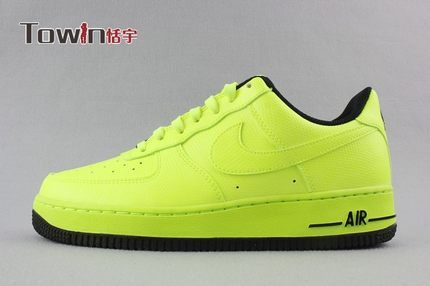 O cualquiera Clasificar distorsión  Buy NIKE AIR FORCE1 VOLT fluorescent yellow Nike AF1 shoes 488298-703 065  620 bubble spot in Cheap Price on Alibaba.com
