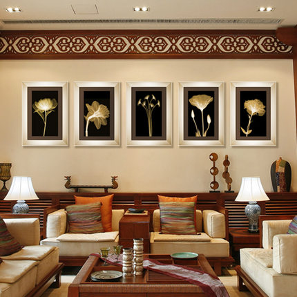 Modern Living Room Decorative Painting Framed The Sofa Backdrop Restaurant