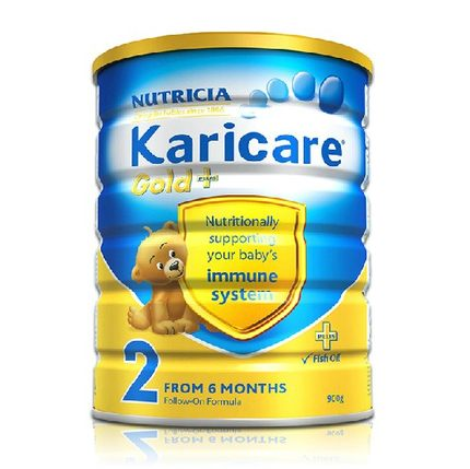 Karicare can RiCOM Sec New Zealand imported milk powder infant milk powder cans paragraph 2 single listen