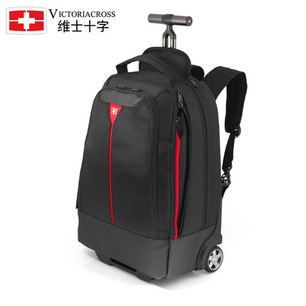09a1745e58e Get Quotations · DeVos Cross Swiss Army Knife Trolley suitcase luggage  check luggage men and women 18-inch