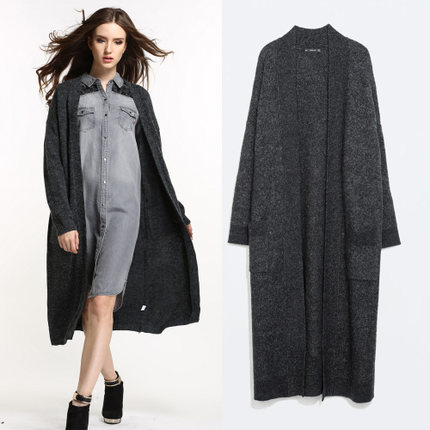 Buy 2014 new womens autumn and winter large cashmere cardigan ...