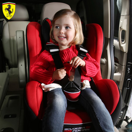 Buy Ferrari Ferrari car child safety seat baby infant car seat with