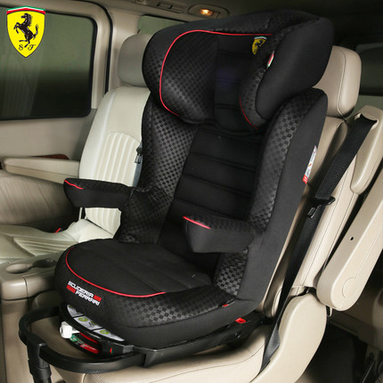 Ferrari Sent Isofix Child Safety Seats Swivel Base Infant Baby Car Seat Carrier G23 Imports