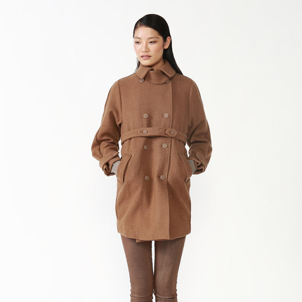 [ 20 ] anniversary special contributions JNBY South commoner elegant wool woolen coat 5C82104-D1