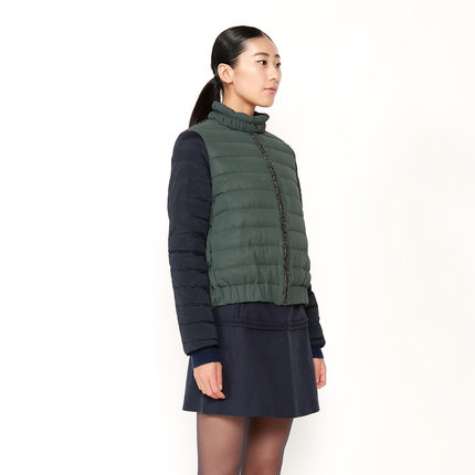 [ 20 ] anniversary special contributions JNBY South commoner winter new hit color stitching Down 5C87072-D1