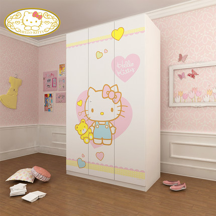 buy hello kitty teenagers two three wood particle. Black Bedroom Furniture Sets. Home Design Ideas