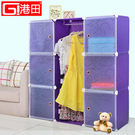 Simple Wardrobe Lockers Baby Wardrobe Storage Cabinets IKEA Childrenu0027s  Bookcase Bookcase Closet Closets