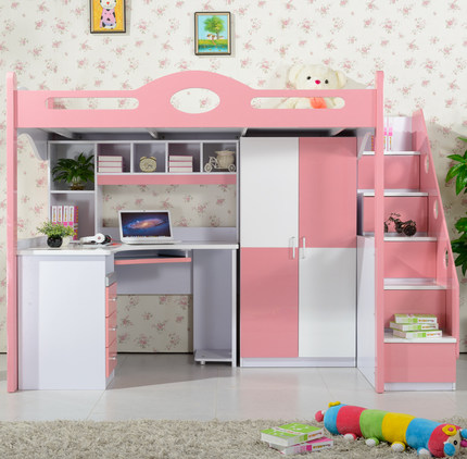 Buy Childrens Bed With A Desk Under The Bed Table Bed