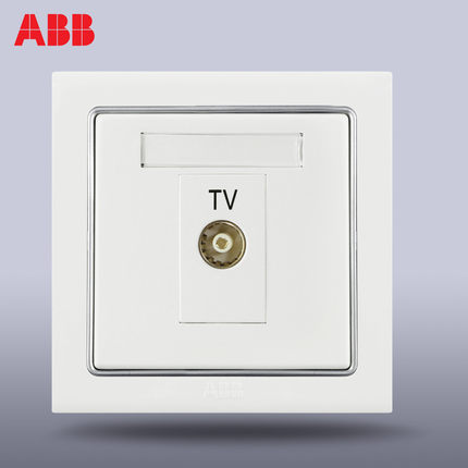 ABB ABB ABB switch panel switch socket outlet Durning a / ordinary TV outlet AN301