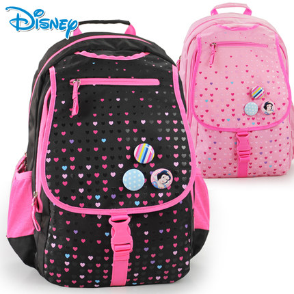 Disney schoolbag 3-4-6 grade students of middle school students princess girls casual shoulder bag children's school bags