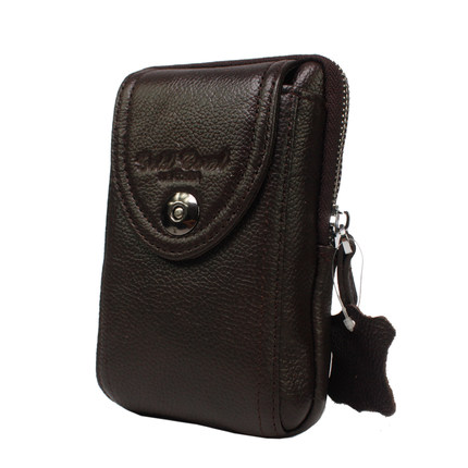Leather purse male 4.8 inch 5 inch 4.5 inch 5.3 inch 5.5 inch 6.3 inch 5.8 inch 6 inch leather bag phone pockets