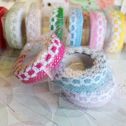 Day workshop album album diy accessories handmade lace cloth tape DIY album scrapbooking essential