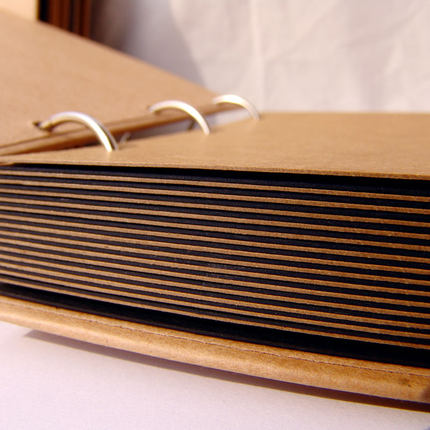 Day workshop this generous 12-inch brown paper handmade DIY album album album creative gifts Korea