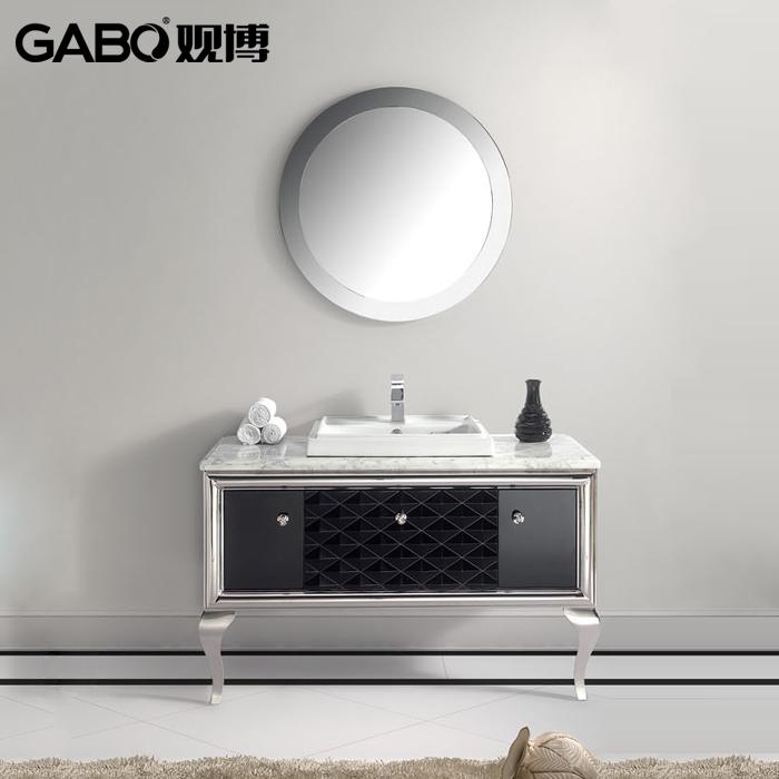 观博后现代简约卫浴柜GBF683D