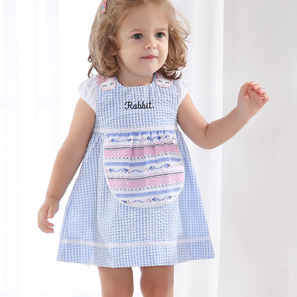 Buy Gaga Bear Korean Female Baby Girls Summer Dress Summer