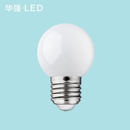 华强 E27螺口LED灯泡 3W 1.9元包邮(限购1件)