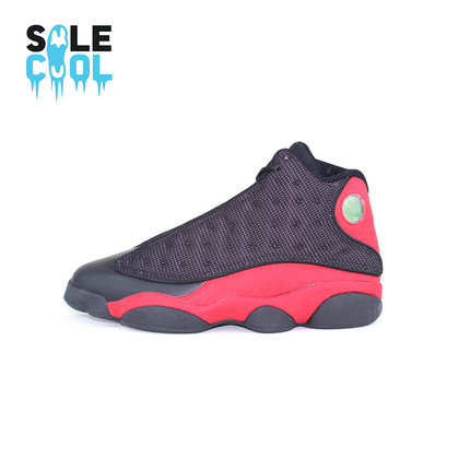 d9252bcc4ab444 Buy Jordan Air Jordan 13 Bred AJ13 black and red panda 414571-010 ...