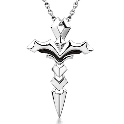 Ming Yang Hai 925 silver jewelry pendant cross necklace men domineering Korean personalized jewelry